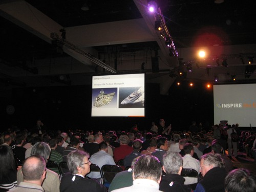 General Session, facing stage 2