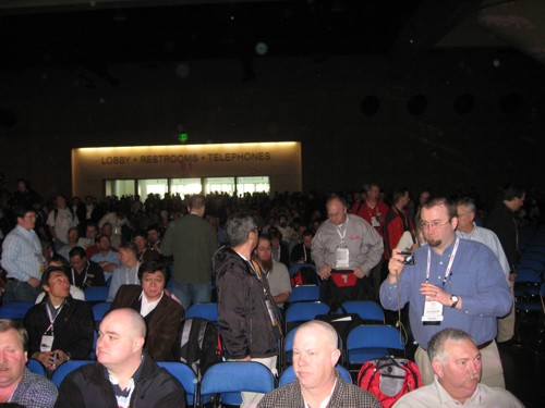 General Session, facing doors