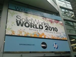 SolidWorks World 2010 Convention Banner