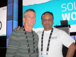 Deepak and Mike