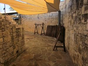Alamo back area