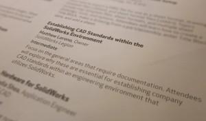 My presentation at SolidWorks World 2011