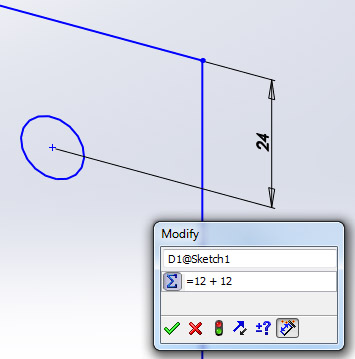 New in SolidWorks 2012: Equations ~ SolidWorks Legion