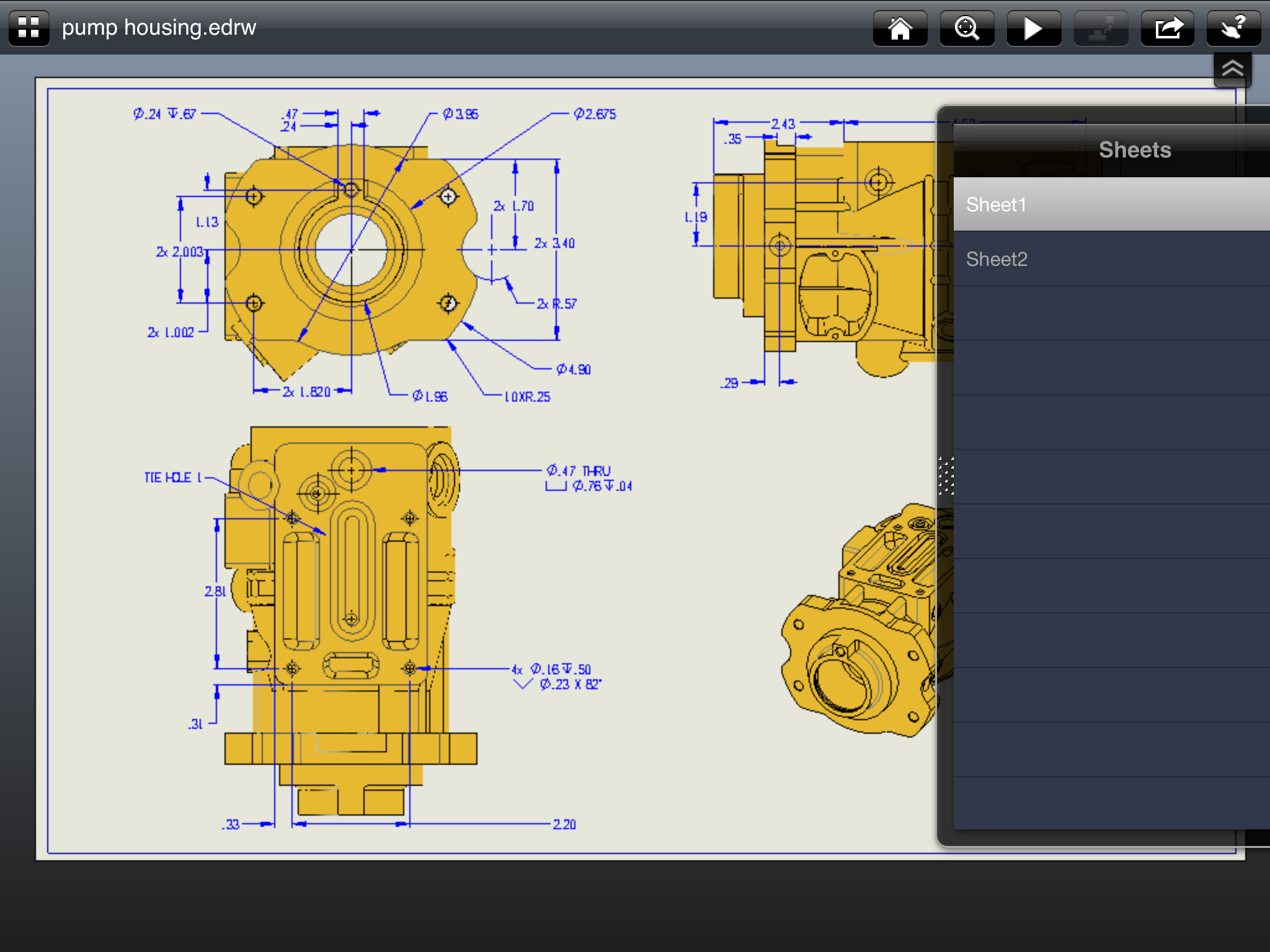 eDrawings for iPad from 3DS SolidWorks ( #edrawingsforipad