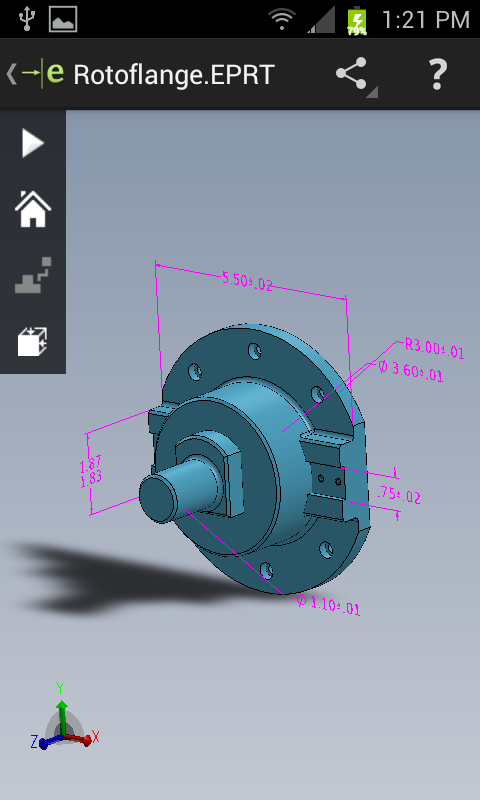 DimXpert dimensions