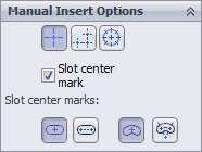 Manual Insert Options