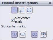 Manual Insert Options