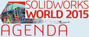 SOLIDWORKS WORLD 2015 Agenda header