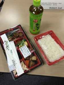 Box lunch in Osaka, Japan