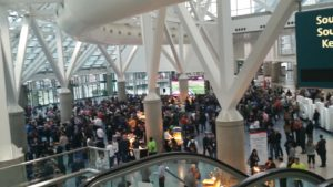 Super Bowl Party at SOLIDWORKS World 2017 sww17