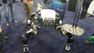 JPL Robot at SOLIDWORKS World 2017 Partner Pavilion sww17