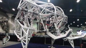 Walking Robot at SOLIDWORKS World 2017 Partner Pavilion sww17