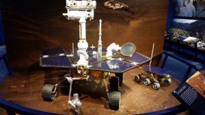 Mars rovers at JPL